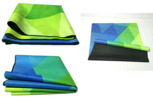 Open-Cell Natural Rubber Yoga Mat, Durable Sports Mat pictures & photos
