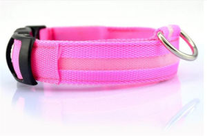 Remote Control LED Flashing Dog Collar, Nylon Dog Collor pictures & photos