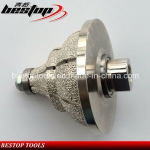 Shape O Vacuum Brazed Diamond Profile Wheel for Sandstone/Limestone pictures & photos