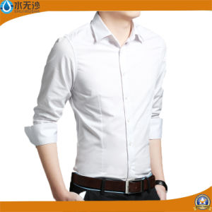 OEM Men Fashion White Dress Shirt Casual Shirts Formal Shirts pictures & photos