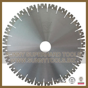 W Shape Segmented Diamond Saw Blade, Granite Saw Blade pictures & photos