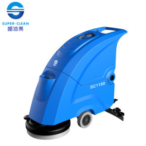 Scrubber Dryer 210rpm Floor Cleaning Machine with Battery / Cable pictures & photos
