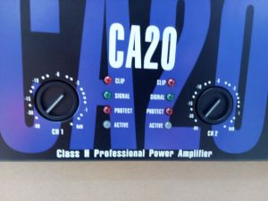 Ca20 PA Class H Toroidal Transformer Power Amplifier pictures & photos