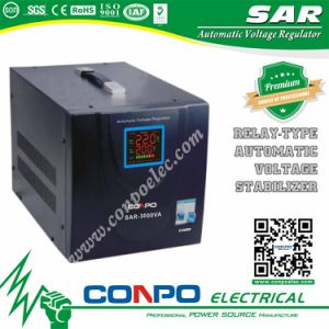 Sar Series Relay-Type Automatic Voltage Regulator/Stabilizer pictures & photos