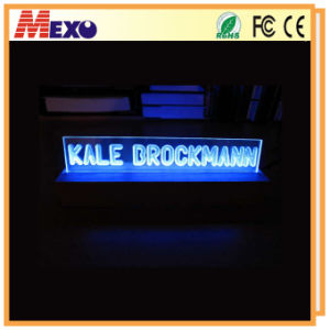 Logo 3D Laser Crystal Engraving LED Store Front Signs pictures & photos