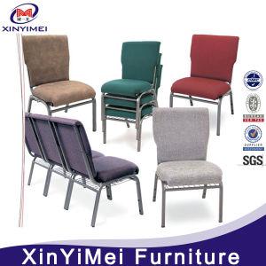 Popular Economic Church Chair, Chair for Church, Metal Church Chair, Iron Church Chair, Stacking Church Chair, Auditorium Chair (XYM-024) pictures & photos