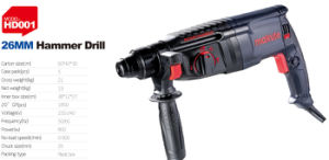 Makute 260W 6.5mm Electric Power Tools Drill Machine (ED001) pictures & photos