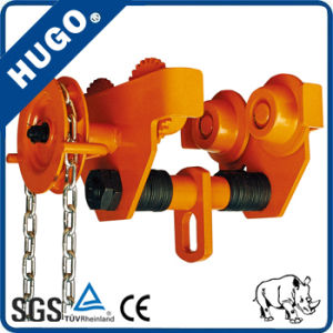 Hand Pull Trolley Smooth Hoist Trolley I Beam Trolley 0.5-10 Ton pictures & photos
