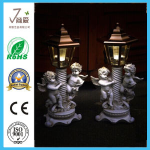 Polyresin Angel Solar Garden Light Outdoor Lighting pictures & photos
