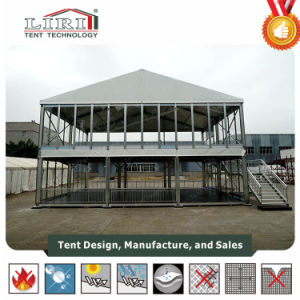10X10m Two Story Tent Double Decker Tent for Weddings, Parties, Exhibition, Conferences pictures & photos