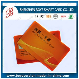 Silk Screen Printing Plastic Smart Card with Signature Panel pictures & photos