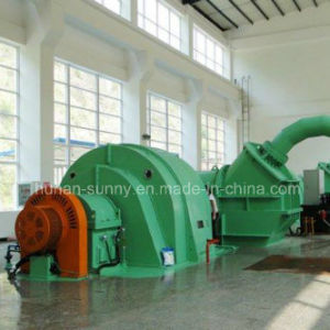 High Head (0.12-3.6 cubic meter/ second) Hydro (Water) Pelton Turbine-Generator/Hydropower/ Hydrorubine pictures & photos