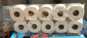 Semi-Automatic Toilet Paper/Kitchen Towel Multi-Rolls Paper Packing Machine pictures & photos