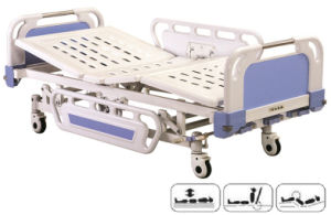 Hospital Three-Fuction Electric Bed (P-10) pictures & photos