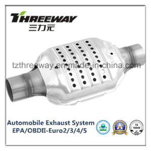 Car Exhaust System Three-Way Catalytic Converter #Twcat0082 pictures & photos