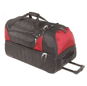 Two Layer Trolley Travel Bag pictures & photos