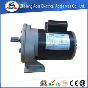 AC Single Phase Asynchronous Low Rpm 1/3HP Gear Motor pictures & photos