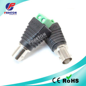 Jr CCTV Accessories BNC Female Connector for Balun pictures & photos