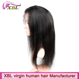 100% Natural Human Hair Virgin Peruvian Hair Full Lace Wig pictures & photos