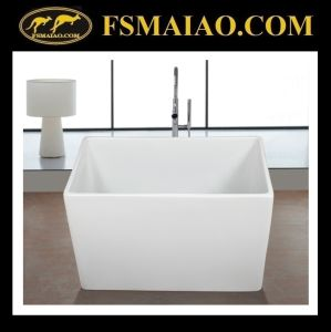 Small Size Bathtub Rectangle Tub Hot-Sale Tub (9014) pictures & photos