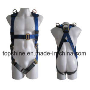 Industrial Working Polyester Professional Standard Full-Body Safety Harness Safety Belt pictures & photos