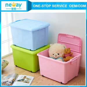 The Best Selling Plastic Storage Box with Lid pictures & photos