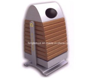Park Bins, Trash Bin, Dustbin for Public Place, Outdoor Dustbins FT-Ptb013 pictures & photos