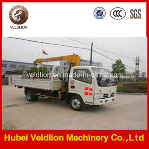 2 Ton Small Mobile Truck Crane with Telescopic Jib Boom pictures & photos