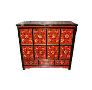 Antique Chinese Furniture Painted Drawers Cabinet Lwb549 pictures & photos