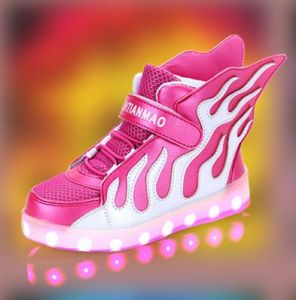 Latest Student Flash Light Shoes Cool LED Shoes (FF824-1) pictures & photos