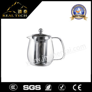 Glass Teapot with Filter Screen
