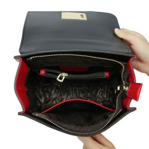 Red Genuine Leather Tote Bags for Womens Luxury Collections pictures & photos