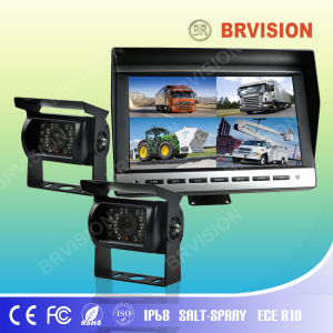 10.1 Inch Rear View System with Waterproof IP69k Rear View Camera for Truck pictures & photos
