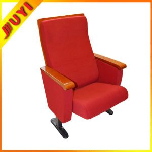 Jy-996m Commercial  Sale Folding  Fabric Stacking Auditorium Chair Parts Wooden Office Chairs Conference Seat Cinema Used pictures & photos