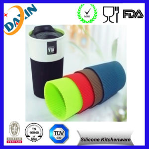 Anti Slip Eco-Friendly Silicone Cup Sleeve pictures & photos