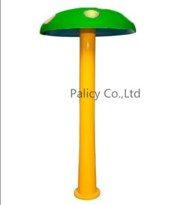 Swimming Pool Water Park Play Equipment Acrylic Water Mushroom Shower Green Color pictures & photos