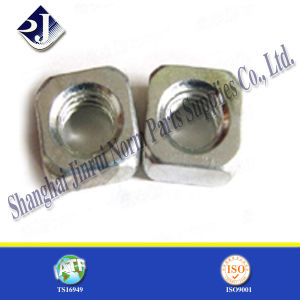 M10 DIN557 Standard Steel Square Nut for Bolt pictures & photos