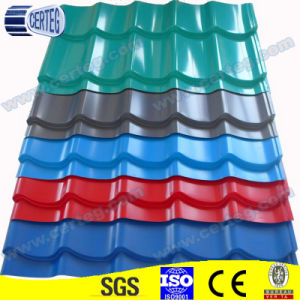Chinese Color Coated Roof Tiles pictures & photos
