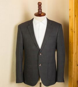 Half Canvas Suits, Full Canvas Gray Suits for Men pictures & photos