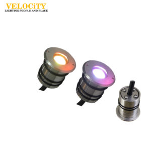 1 PCS 3W Stainless Steel RGB IP68 LED Underwater Pool Light RoHS Approved pictures & photos
