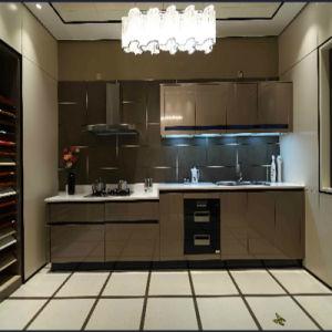 Welbom American Oak Material Modular Kitchen Designs pictures & photos