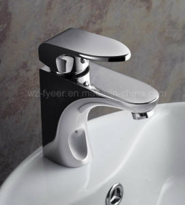 Durable Single Handle Brass Water Faucet Washbasin Mixer (QH3038) pictures & photos