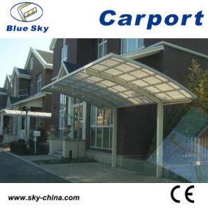 Fiberglass Roof Aluminum Frame Modern Carport pictures & photos