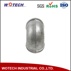 OEM Sand Casting Carbon Steel Pipe Fitting Elbow