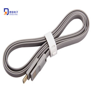 Brand New 1m Noodle Magnetic Micro USB Cable pictures & photos