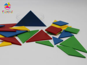 Plastic Mathematics Manipulatives Geometry Pattern Blocks pictures & photos