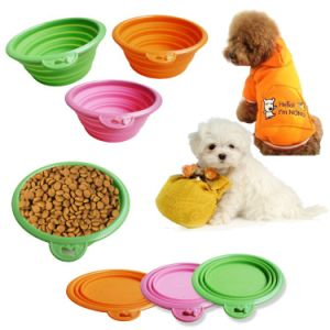 Hot Sell Unbreakable for Outdoor Foldable Silicone Bowl