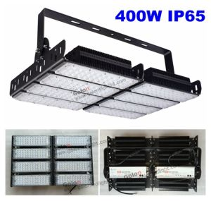 High Power 400W Portable LED Flood Light with Meanwell Driver 5 Years Warranty Tennis Court Flood Lighting pictures & photos