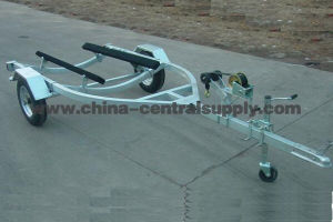 Galvanized 3.9m Jet Ski Trailer From Facotry (CT0067) pictures & photos