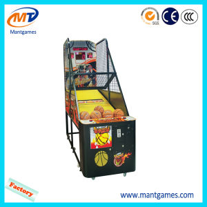 Entertainment Coin Operated Game Children Basketball Machine pictures & photos